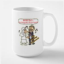 50th Wedding Anniversary Large Mug