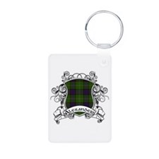 Alexander Tartan Shield Keychains