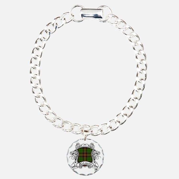 Allison Tartan Shield Bracelet