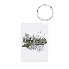 Anderson Tartan Grunge Keychains