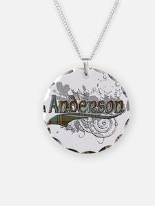 Anderson Tartan Grunge Necklace