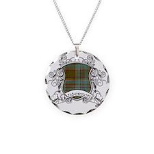 Anderson Tartan Shield Necklace