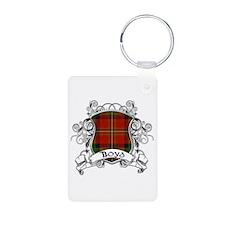 Boyd Tartan Shield Keychains