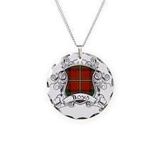 Boyd Tartan Shield Necklace
