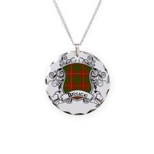 Bruce Tartan Shield Necklace
