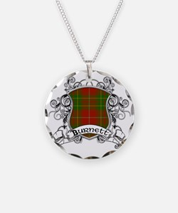 Burnett Tartan Shield Necklace