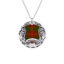 Cameron Tartan Shield Necklace