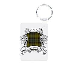 Campbell Tartan Shield Keychains