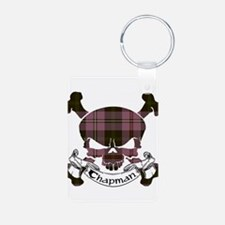 Chapman Tartan Skull Keychains