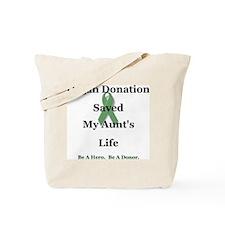 Aunt Transplant Tote Bag