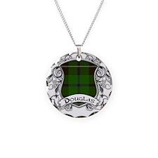 Douglas Tartan Shield Necklace