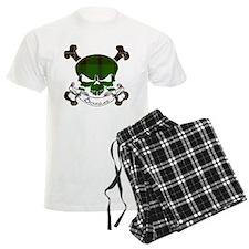 Douglas Tartan Skull Pajamas