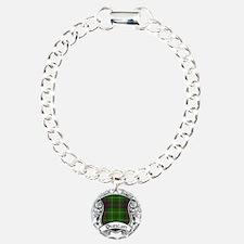 Duncan Tartan Shield Bracelet