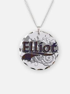 Elliot Tartan Grunge Necklace