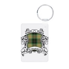 Fitzpatrick Tartan Shield Aluminum Photo Keychain