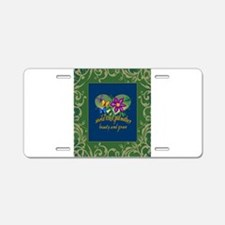 Beautiful Godmother Aluminum License Plate