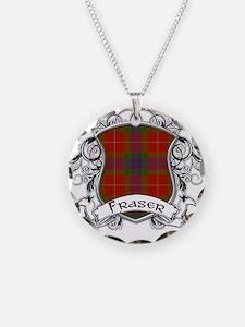 Fraser Tartan Shield Necklace