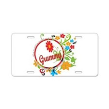 Wonderful Grammy Aluminum License Plate