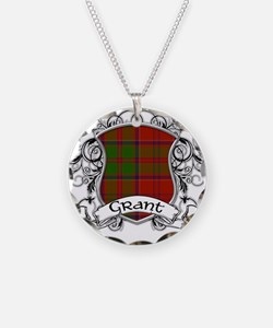 Grant Tartan Shield Necklace