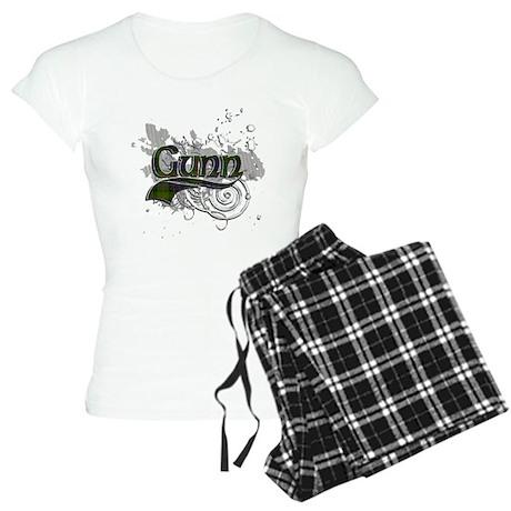 Gunn Tartan Grunge Women's Light Pajamas