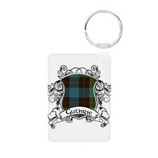 Guthrie Tartan Shield Aluminum Photo Keychain