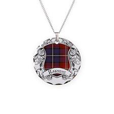 Harris Tartan Shield Necklace