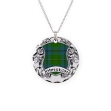 Johnston Tartan Shield Necklace
