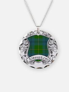 Johnston Tartan Shield Necklace