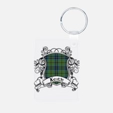 Keith Tartan Shield Keychains