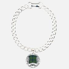 Keith Tartan Shield Bracelet