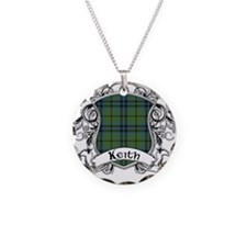 Keith Tartan Shield Necklace