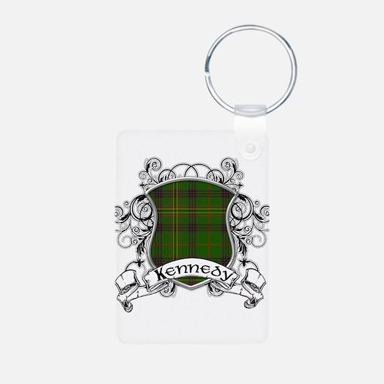 Kennedy Tartan Shield Keychains