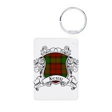 Kerr Tartan Shield Keychains
