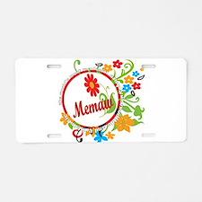 Wonderful Memaw Aluminum License Plate