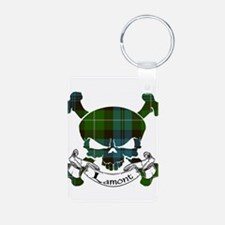 Lamont Tartan Skull Keychains
