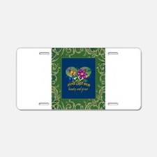 Beautiful Mom Aluminum License Plate