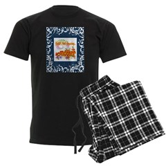 Mother Beauty and Grace Men's Dark Pajamas