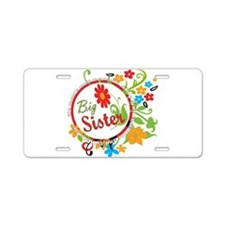 Wonderful Big Sister Aluminum License Plate