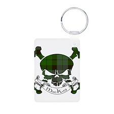 MacKay Tartan Skull Keychains