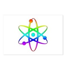 Atom - Rainbow Postcards (Package of 8)