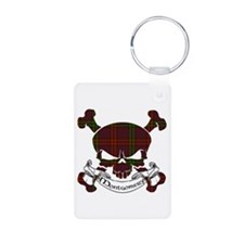 Montgomery Tartan Skull Keychains