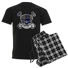 Napier Tartan Skull Pajamas