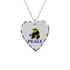 Peace Panda Bear Necklace