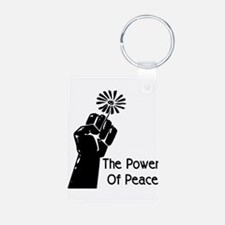 Power Of Peace Keychains