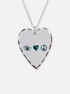 I Heart Peace Necklace