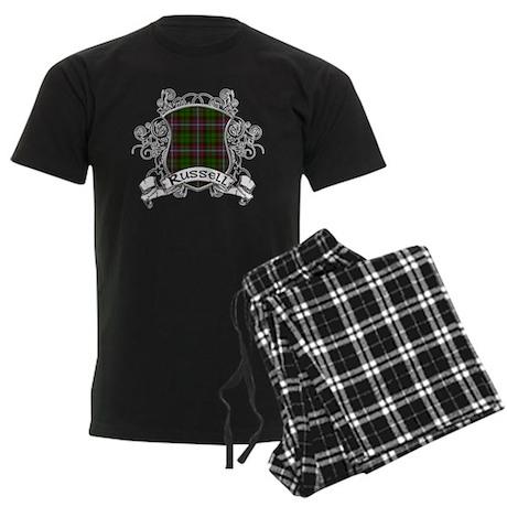 Russell Tartan Shield Men's Dark Pajamas