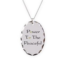 Power To The Peaceful Necklace