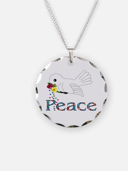 Peace Bird Necklace