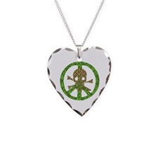 Nature Peace Skull Necklace