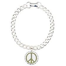 Smiley Face Peace Bracelet